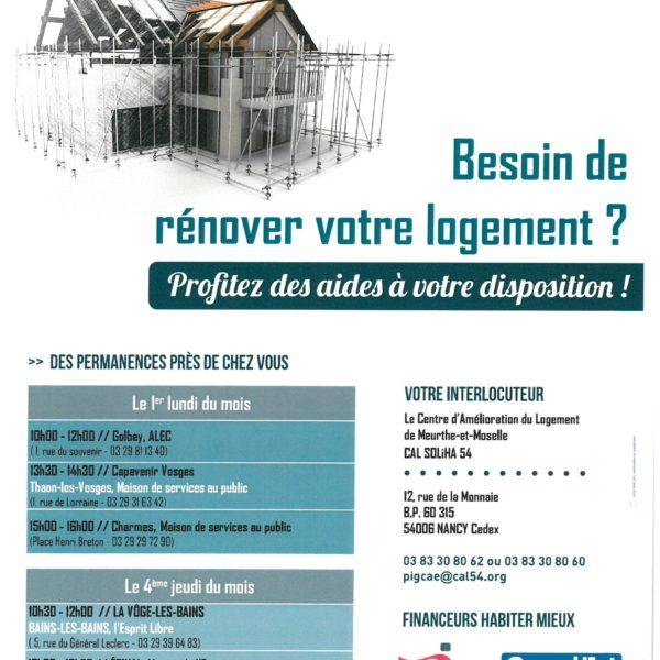 Rénover votre logement