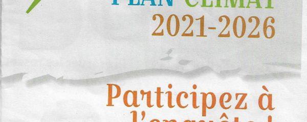Plan climat 2021- 2026