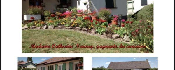 Palmarès du concours des maisons fleuries