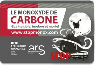 Monoxyde de carbone : danger !