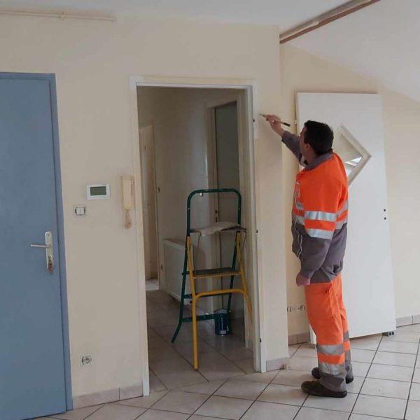 Un logement communal en cours de rénovation