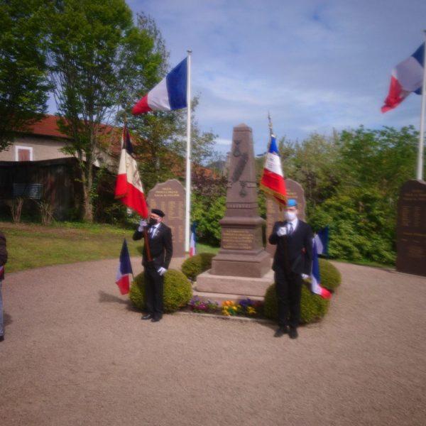 Cérémonie du 8 mai 1945