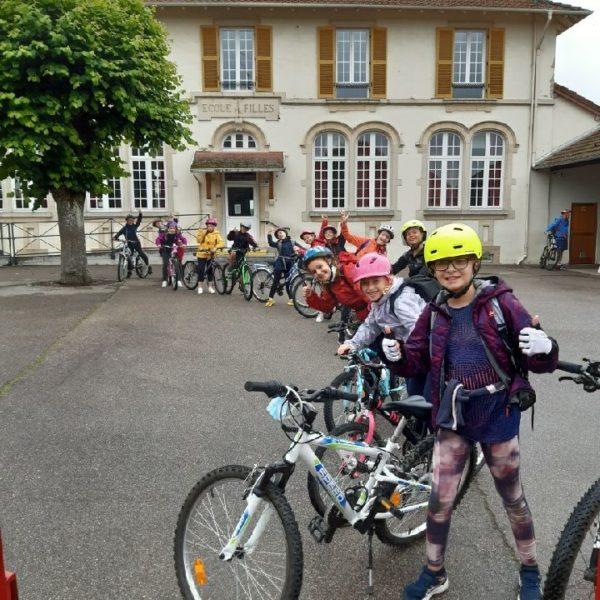 """Clôture du cycle """"Savoir rouler à vélo"""""""