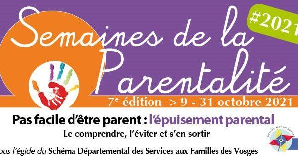 Semaines de la parentalité 2021