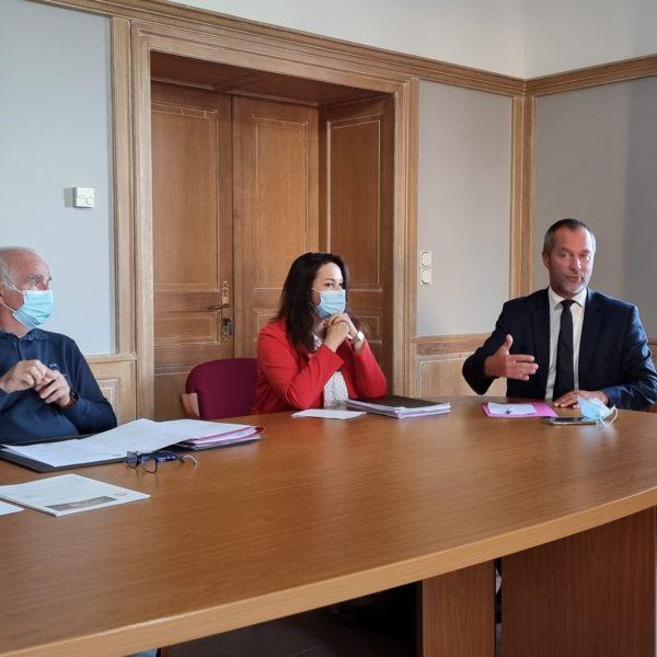 Intervention de Monsieur Stéphane VIRY et Madame Dominique MARQUAIRE lors de la séance du Conseil Municipal